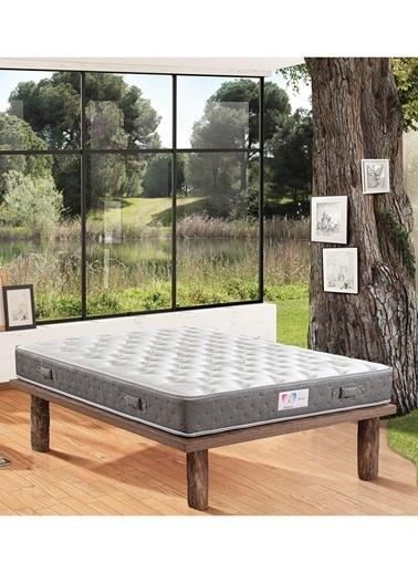 Hibboux Dream Yaylı Yatak 90x190 Cm  Beyaz